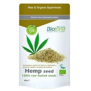 Raw Hemp Hulled Seeds