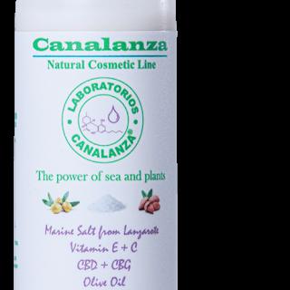 Body Milk with Marine Salt from Lanzarote Canalanza