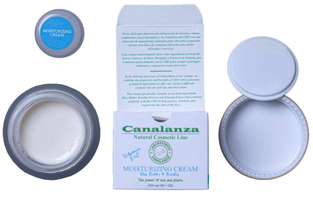 moisturing cream canalanza