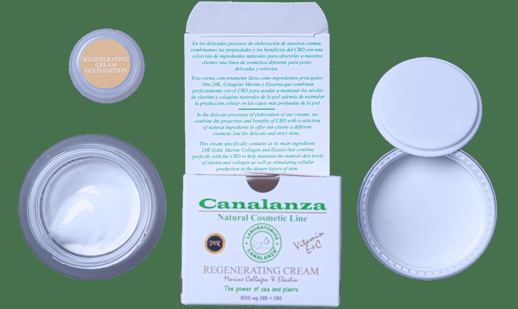 24k Gold Cream canalanza