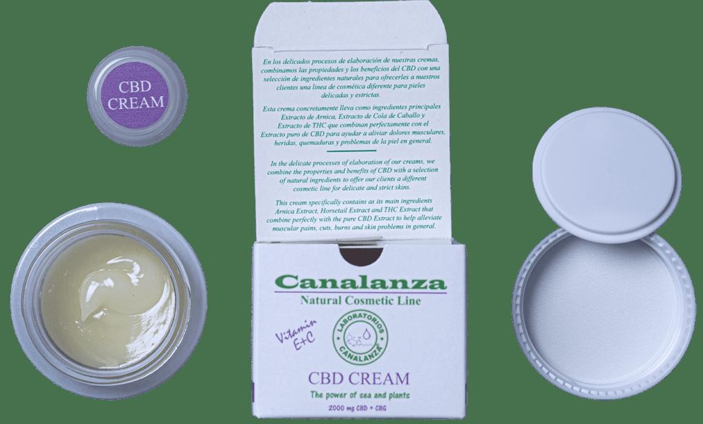 cbd cream canalanza